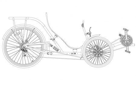Трайк COMFORT с подвеской | Specbike Technics