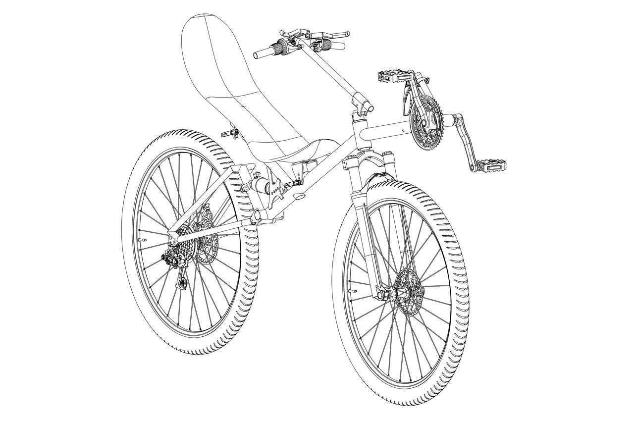 Zweirädriges Fahrrad EXTRIM | Specbike Technics