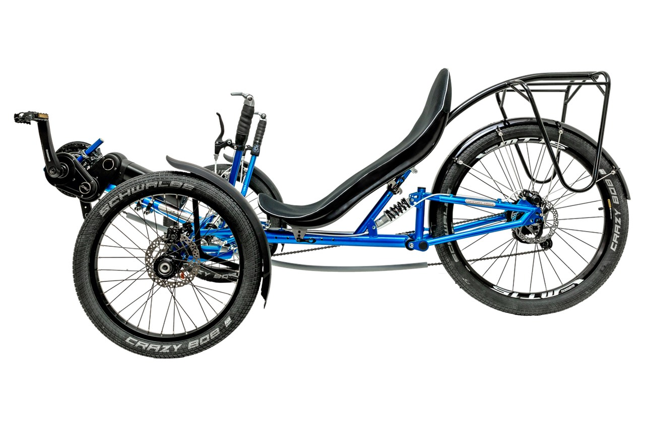 SpecBikeTechnics Recumbent Tricycle