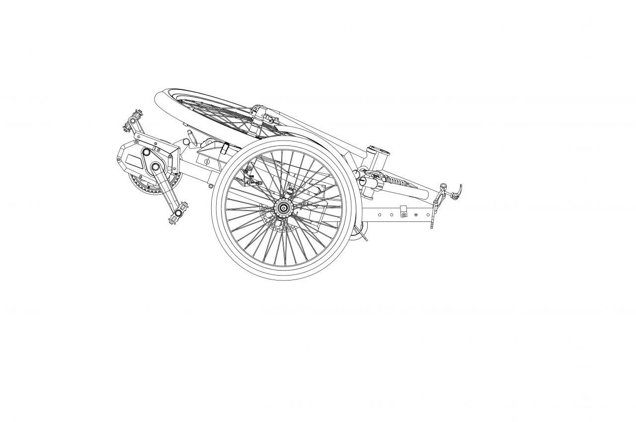 E bike Складной 003