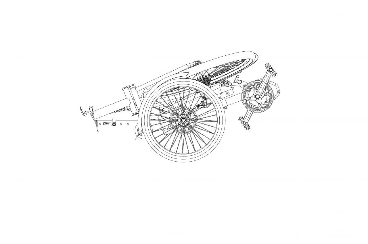 E bike Складной 004