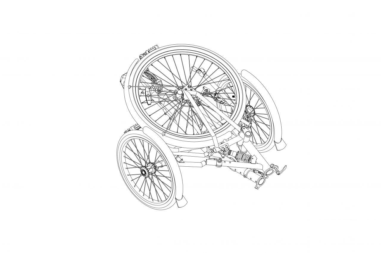 E bike Складной 006