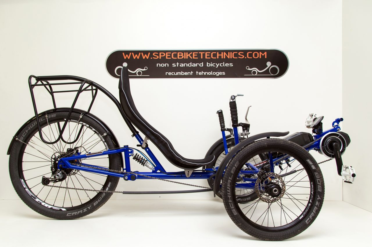 Electric Recumbent Trike