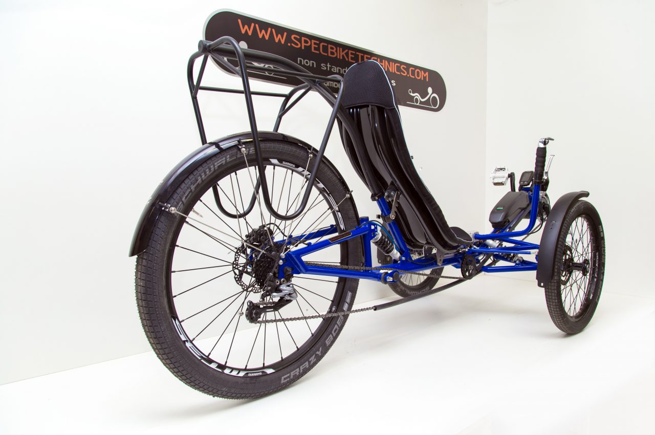 motorized recumbent trike